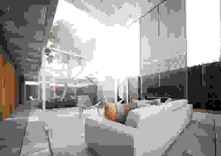 residência   M.A. Casas modernas por DÚOZ arquitetos Moderno