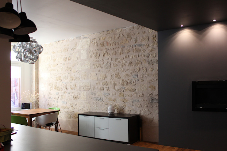 Appartement BRNT Murs & Sols modernes par BIENSÜR Architecture Moderne