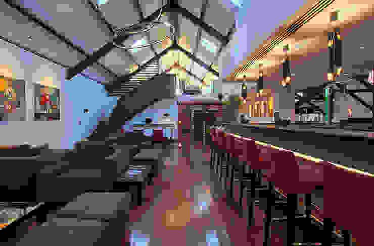 Salpoente - Lounge Espaços de restauração modernos por GAAPE - ARQUITECTURA, PLANEAMENTO E ENGENHARIA, LDA Moderno