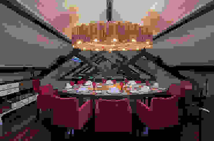 Salpoente - Sala do Chefe Espaços de restauração modernos por GAAPE - ARQUITECTURA, PLANEAMENTO E ENGENHARIA, LDA Moderno