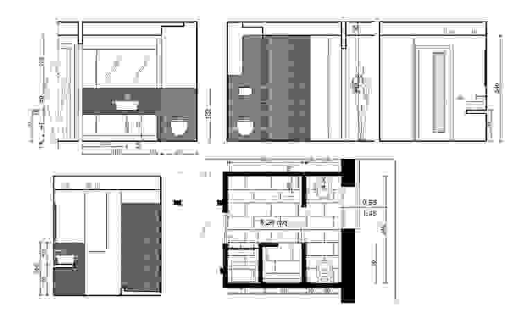 appartamento a+m di Gian Carlo Sottoriva Architetto