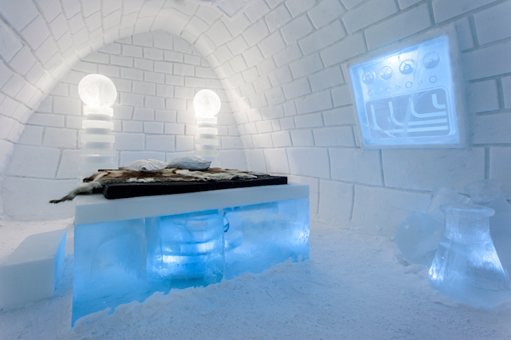 Ice hotel 호텔 by Pin Pin