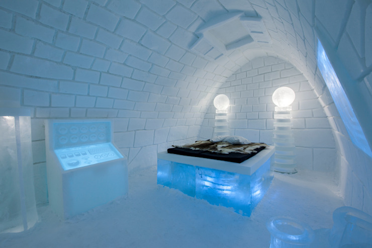 Ice hotel by Pin Pin