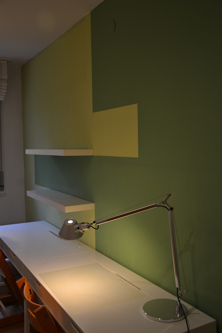appartamento f+g Ingresso, Corridoio & Scale in stile moderno di Gian Carlo Sottoriva Architetto Moderno