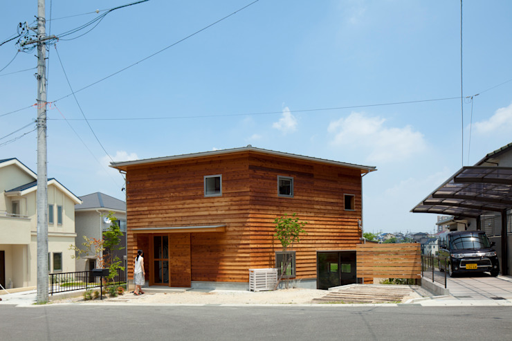 The Frontier House 株式会社間宮晨一千デザインスタジオ Eclectic style houses