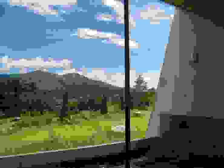 浴室から見える風景 モダンスタイルの お風呂 の 一級建築士事務所ATELIER-LOCUS モダン