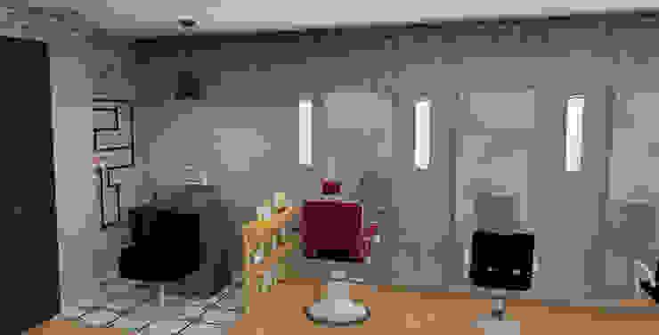 Espaces commerciaux industriels par PEANUT DESIGN STUDIO Industriel