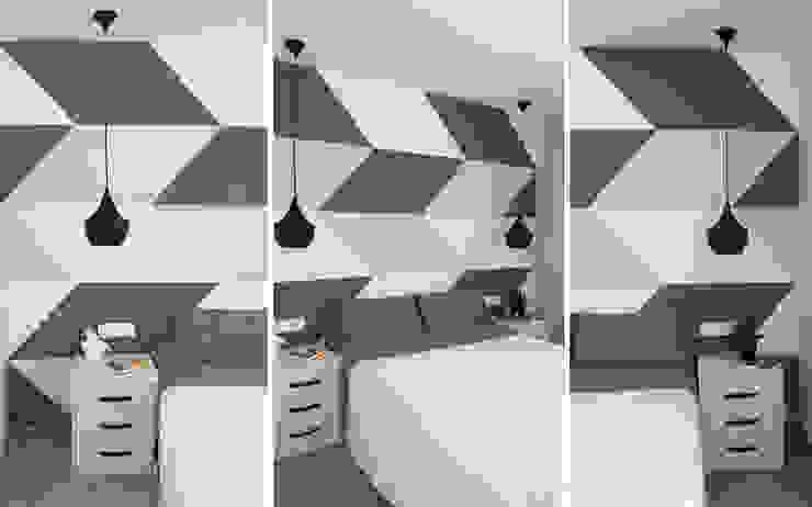 Dormitorios modernos de PEANUT DESIGN STUDIO Moderno