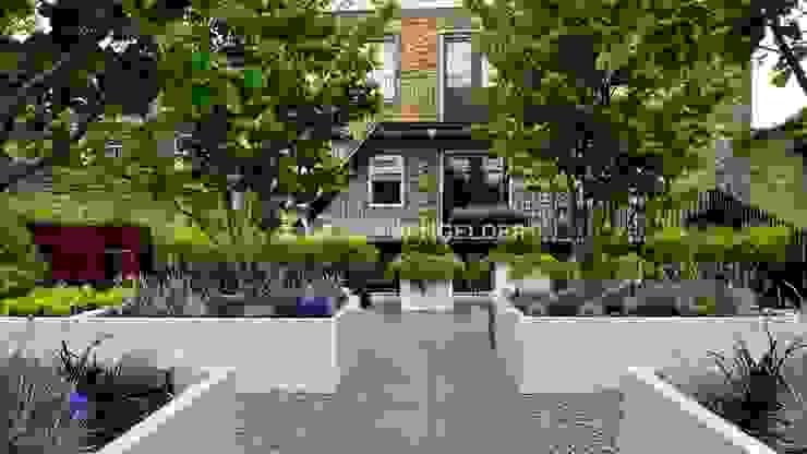 Roof terrace Dordrecht Modern Garden by ERIK VAN GELDER | Devoted to Garden Design Modern