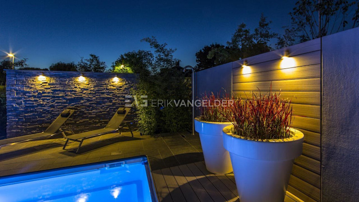 Wellness garden with pool Barendrecht Moderne tuinen van ERIK VAN GELDER | Devoted to Garden Design Modern