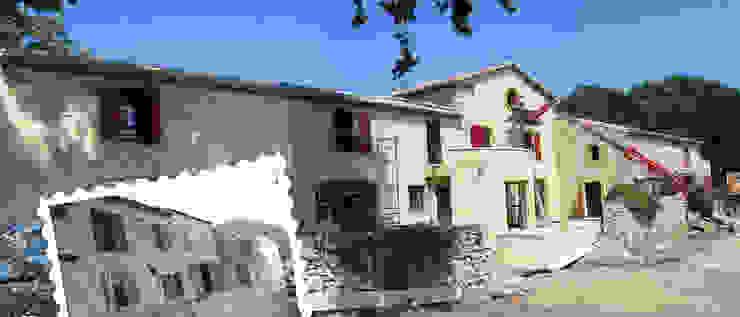 RENOVATION D'UN MAS Maisons rurales par JOSE MARCOS ARCHITECTEUR Rural