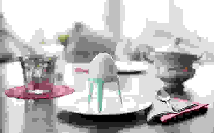 rocket Eierbecher - der Eierbecher ohne den Becher: modern  von produkte + gestaltung,Modern