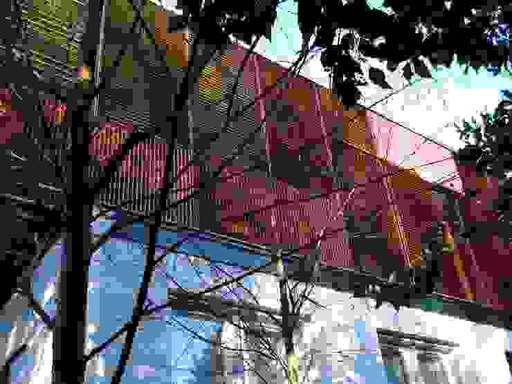 Gelaagde gevel: modern  door TenBrasWestinga ARCHITECTUUR / INTERIEUR en STEDENBOUW, Modern