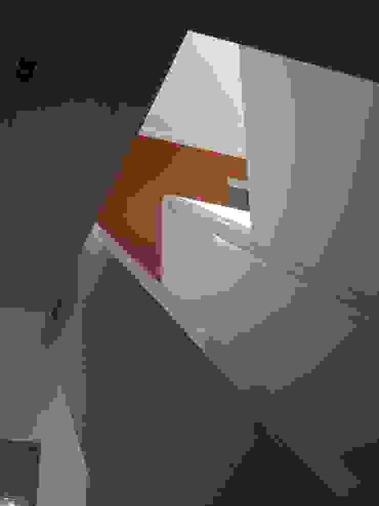 Trappenhuis Moderne gangen, hallen & trappenhuizen van TenBrasWestinga ARCHITECTUUR / INTERIEUR en STEDENBOUW Modern