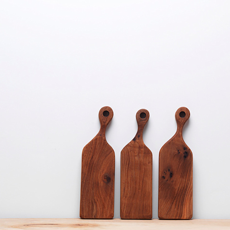 london elm chopping boards: rustic  by Fate London, Rustic