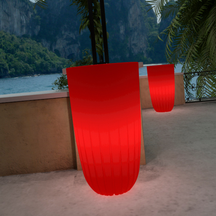 Tera Light Collection Five Red:  in stile industriale di tera-italy, Industrial