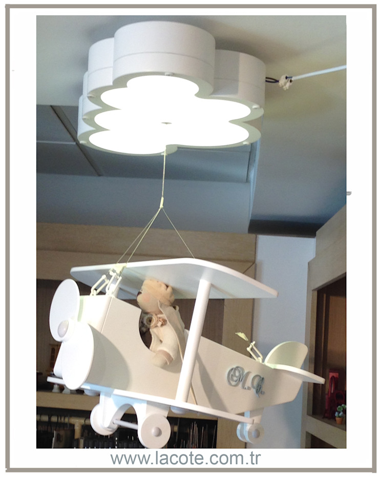 Lacote Design – Lacote bebek odası dekorasyonu minyatür pano kapı süsü aksesuarları : modern tarz , Modern