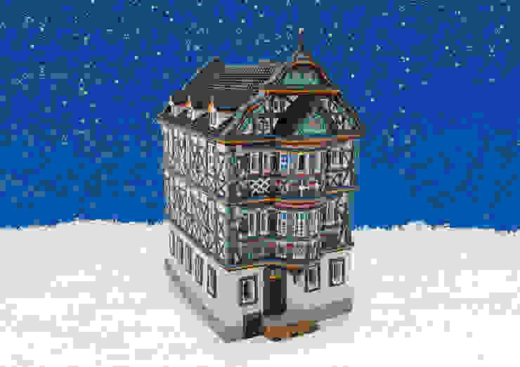 13567 - Porzellan Windlichthaus Killingerhaus Idstein/Taunus 11x17x21 cm von G. Wurm GmbH + Co. KG Klassisch