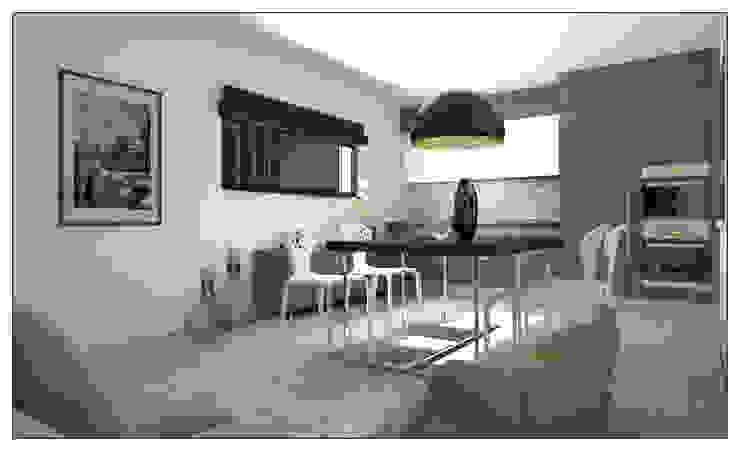 Modern Tavern Garage/Rimessa in stile moderno di AG Interior Design Moderno