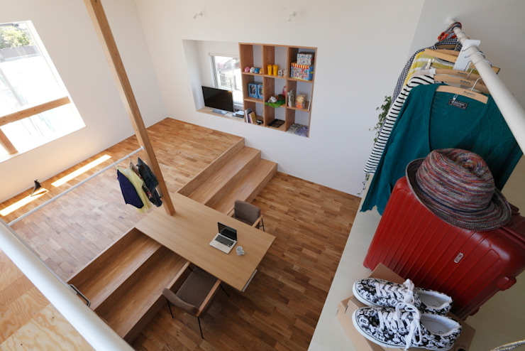 Higashihayashiguchi House: ALTS DESIGN OFFICEが手掛けた折衷的なです。,オリジナル
