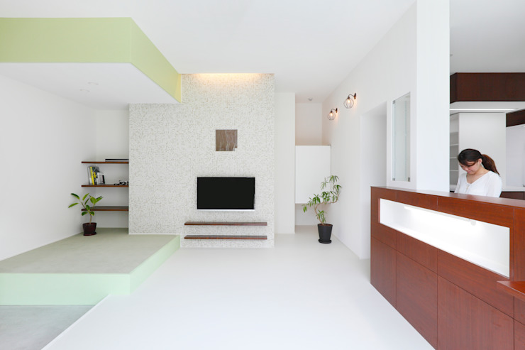 Kitaoji Dental Clinic: ALTS DESIGN OFFICEが手掛けた折衷的なです。,オリジナル