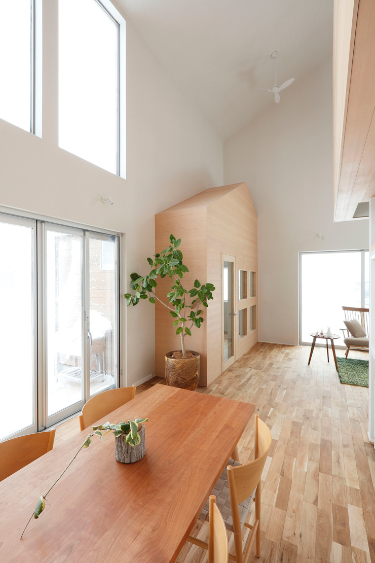 Shimookabe House の ALTS DESIGN OFFICE