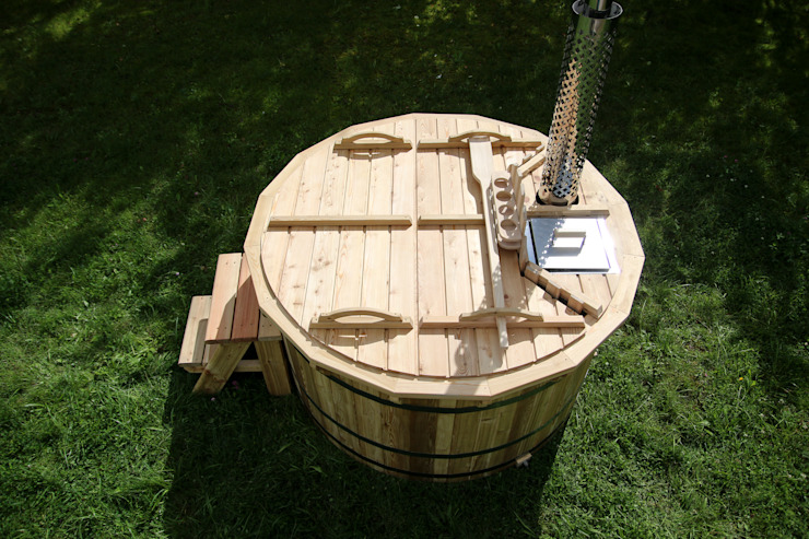 Wooden Hot Tubs by Royal Tubs