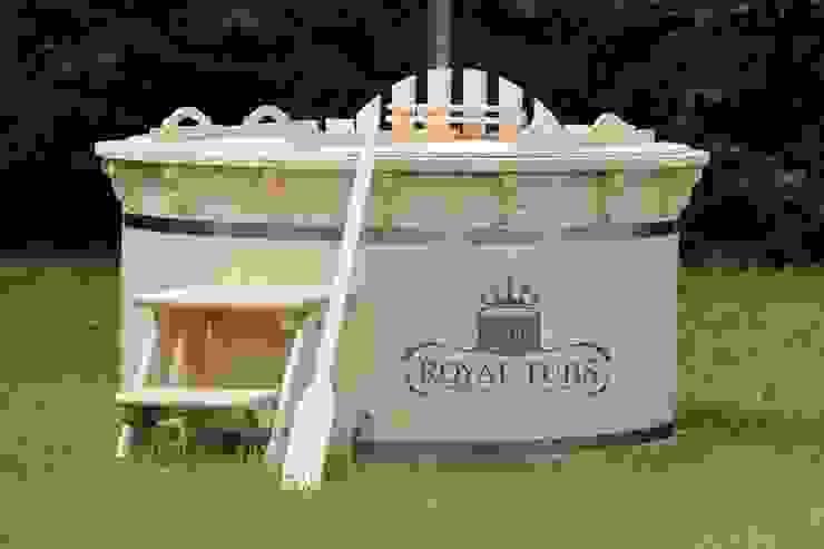 Wooden Hot Tubs の Royal Tubs