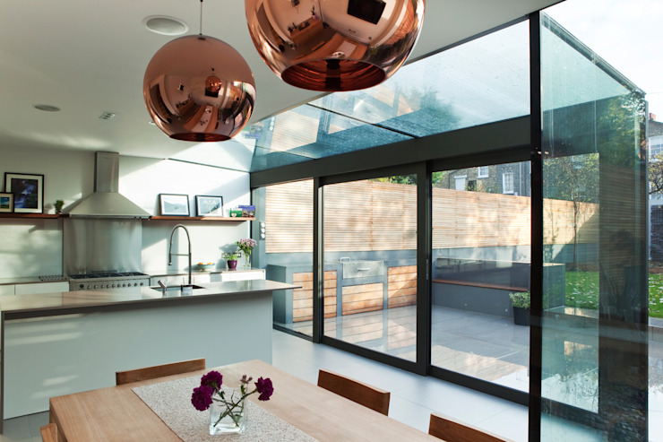 Casas de estilo  por Lipton Plant Architects, Moderno