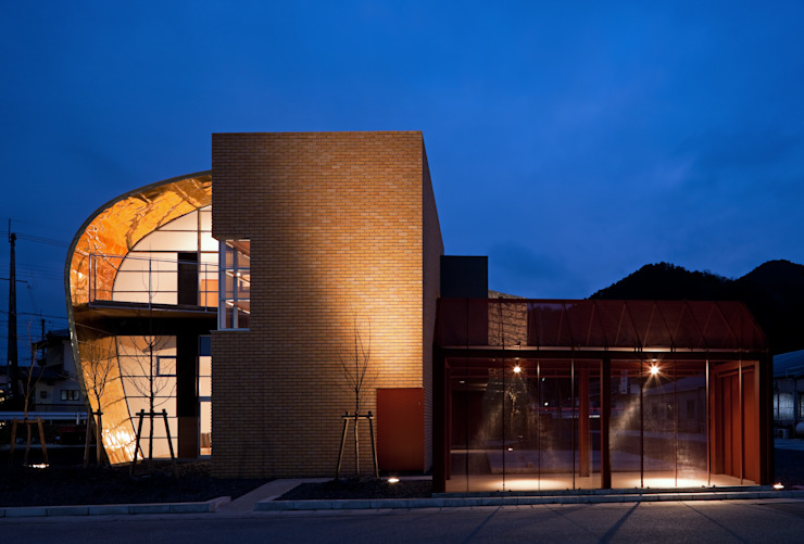 Tubo.v: 北脇一郎建築設計事務所/Ichiro Kitawaki architectsが手掛けた現代のです。,モダン