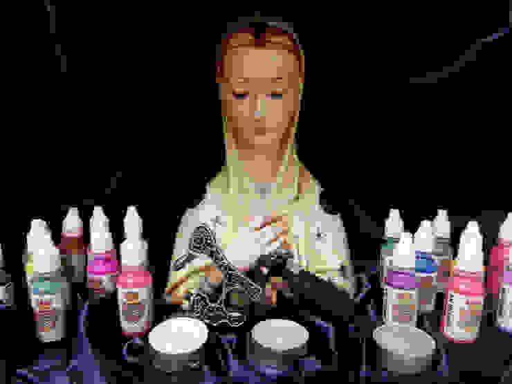 Madonna dell'inchiostro protettrice dei tatuatori di Felice Luca Cardone Architetto Eclettico