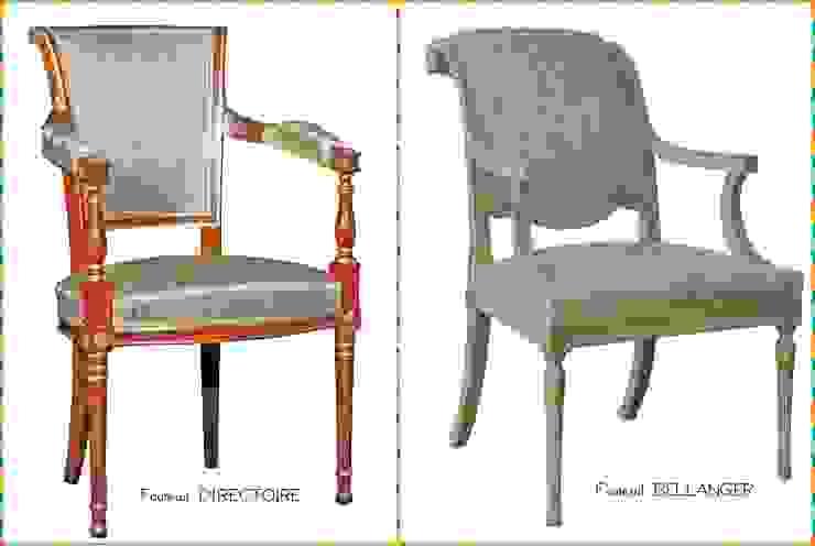 Les fauteuils Directoire par BALCAEN Mobilier de style, Paris