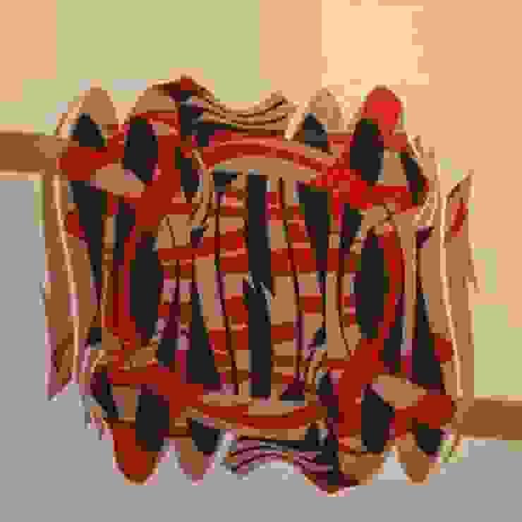 Allah in Beige/Red by Mica Gallery Ltd