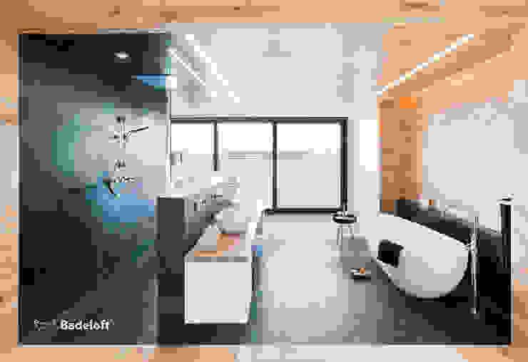 Freistehende Badewanne BW-01-L:  Badezimmer von Badeloft GmbH - Hersteller von Badewannen und Waschbecken in Berlin
