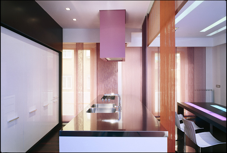 pink house Case moderne di Filippo Bombace Moderno