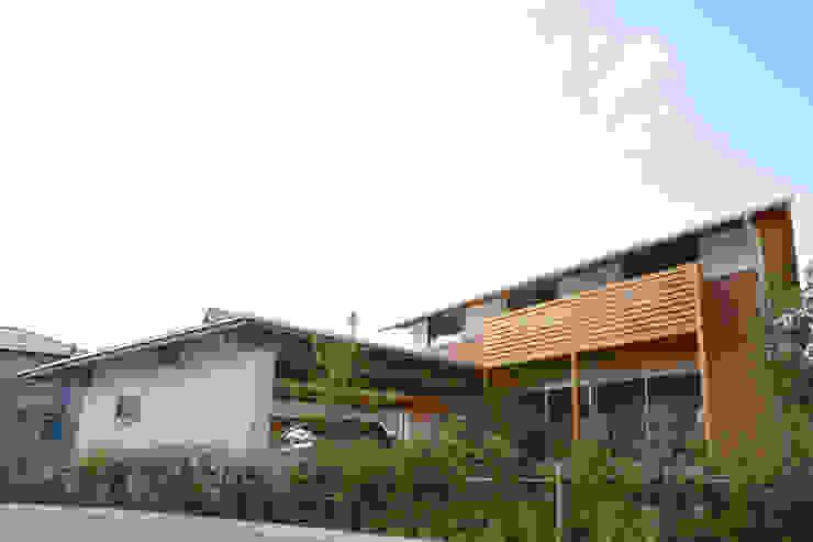 南側外観 日本家屋・アジアの家 の 三宅和彦/ミヤケ設計事務所 和風