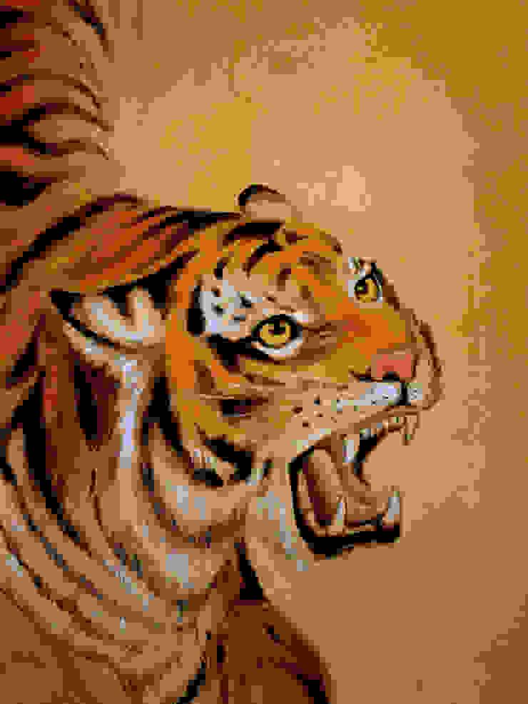 Tigre Murs & Sols tropicaux par Zuritagordian Tropical