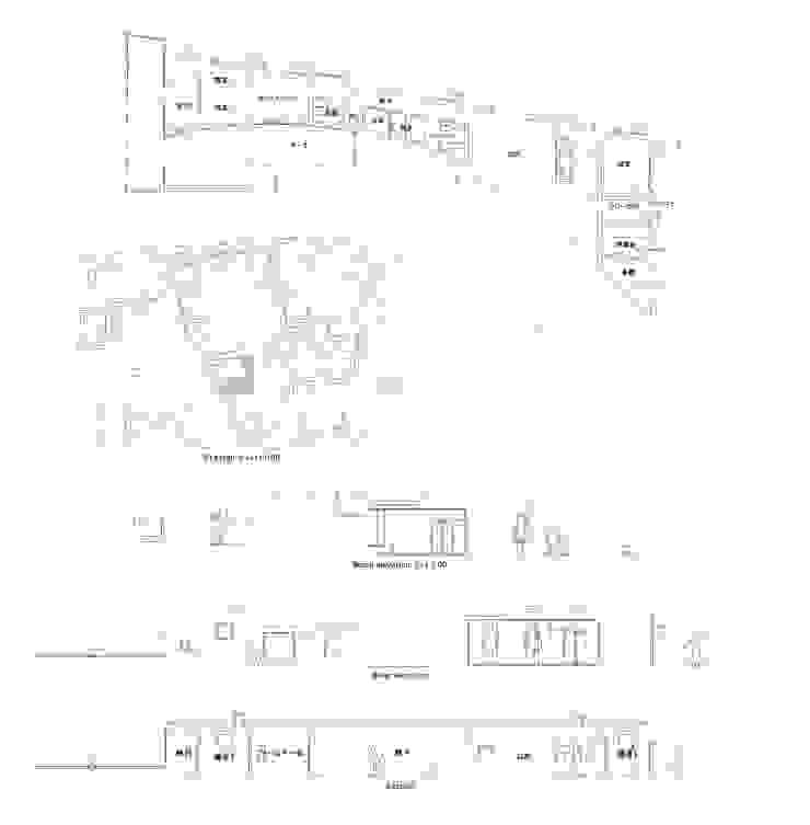Minimalist living room by VuA(ブイユーエー) Minimalist