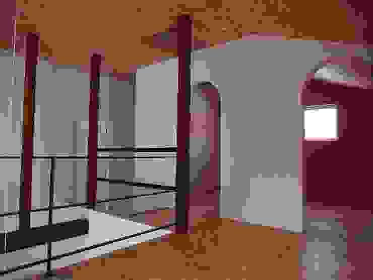 神子島肇建築設計事務所 Modern style bedroom
