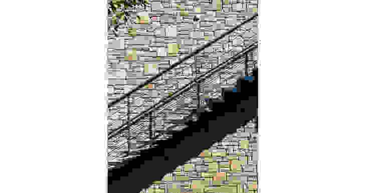 Rustic style corridor, hallway & stairs by TEGET Mimarlık Rustic