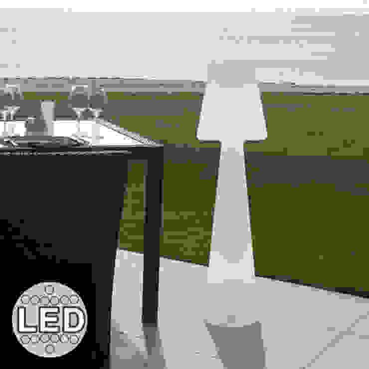 Lampadaire Casa Light 110cm Led sans fil avec télécommande pour l'extérieur par Ecreativ Moderne
