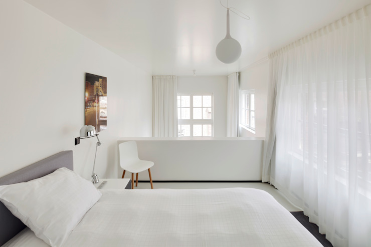Wiel Arets Architects Modern style bedroom