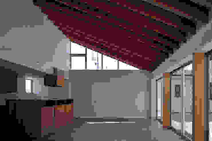 稲沢の家 モダンデザインの ダイニング の 彦坂昌宏建築設計事務所 モダン