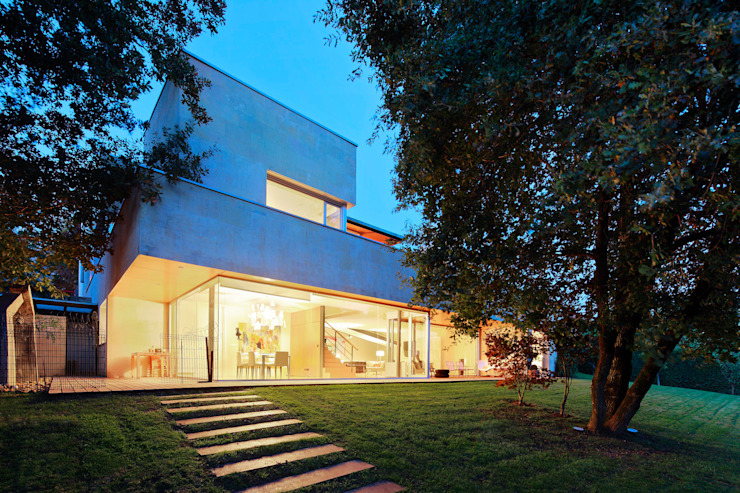Modern Evler Hoz Fontan Arquitectos Modern