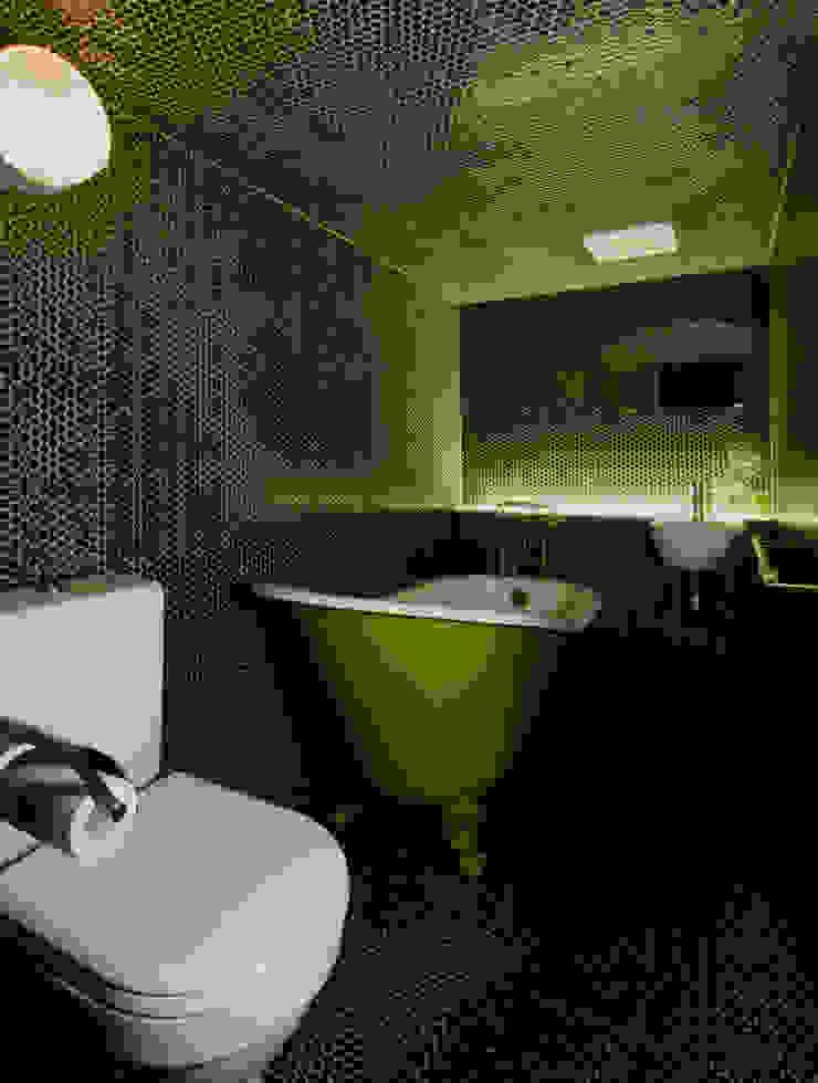 バスルーム: O設計室が手掛けたクラシックです。,クラシック