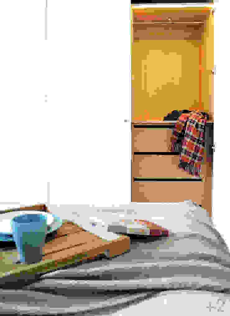 #reformaDUQUE Dormitorios de estilo escandinavo de +2 Escandinavo