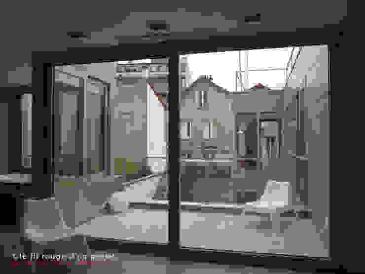 L'immatériel Chambre moderne par dE LAURENTIIS Architectures, le fil rouge d'un projet ! Moderne