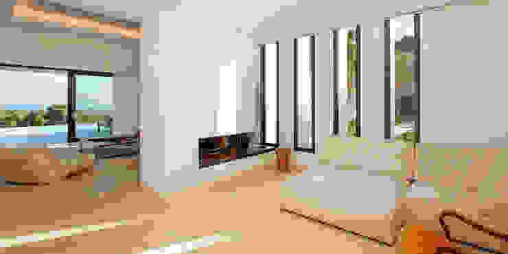 Villa Montesol, Ibiza: modern  von STUDIO JAN WICHERS,Modern