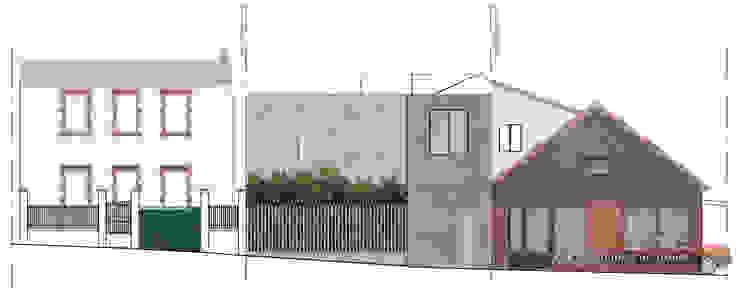 L'immatériel Murs & Sols modernes par dE LAURENTIIS Architectures, le fil rouge d'un projet ! Moderne