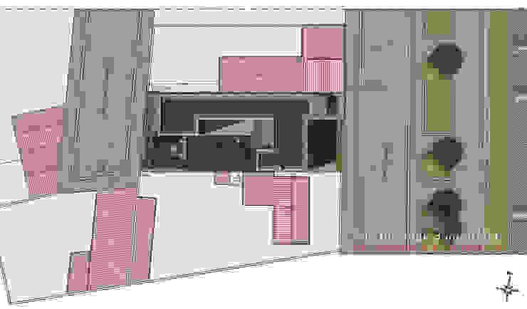 L'immatériel Maisons modernes par dE LAURENTIIS Architectures, le fil rouge d'un projet ! Moderne